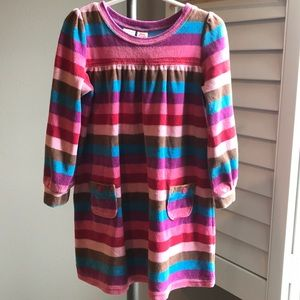 Osh Kosh striped velour dress 3T